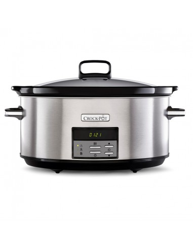 CrockPot - Olla Digital Oval Gris 7.5L