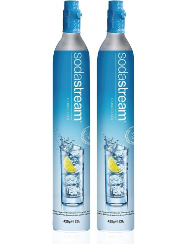 Pack 2 Cilindro CO2, 60 lt. SodaStream