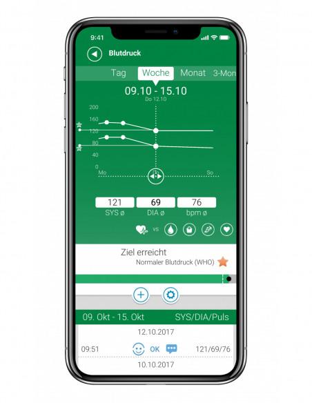 MEDISANA iphonex_Blutdruck-Screen_DE.jpg