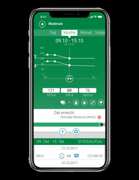 MEDISANA iphonex_Blutdruck-Screen_DE.png