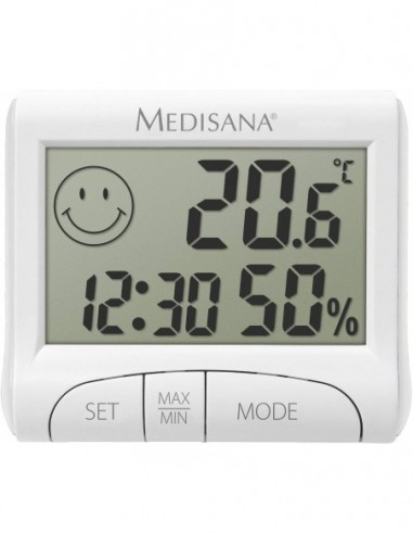 Higrómetro térmico digital MEDISANA...